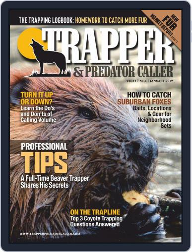 Trapper & Predator Caller January 1st, 2019 Digital Back Issue Cover