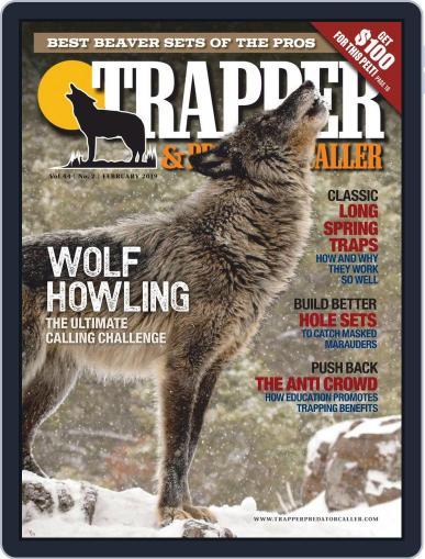 Trapper & Predator Caller February 1st, 2019 Digital Back Issue Cover