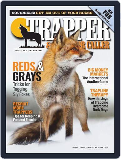 Trapper & Predator Caller March 1st, 2019 Digital Back Issue Cover
