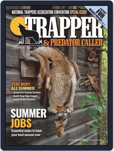 Trapper & Predator Caller June 1st, 2019 Digital Back Issue Cover