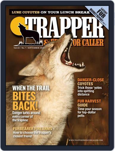 Trapper & Predator Caller September 1st, 2019 Digital Back Issue Cover