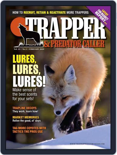 Trapper & Predator Caller February 1st, 2020 Digital Back Issue Cover