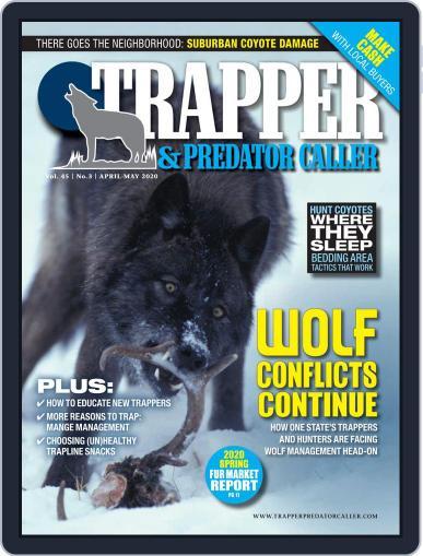 Trapper & Predator Caller April 1st, 2020 Digital Back Issue Cover
