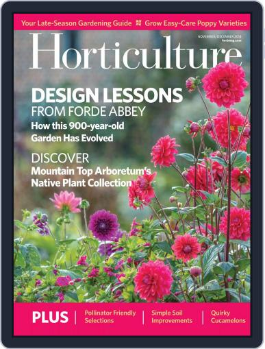Horticulture November 1st, 2018 Digital Back Issue Cover