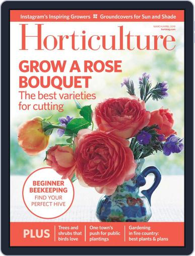 Horticulture March 1st, 2019 Digital Back Issue Cover