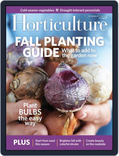 Horticulture September 1st, 2019 Digital Back Issue Cover
