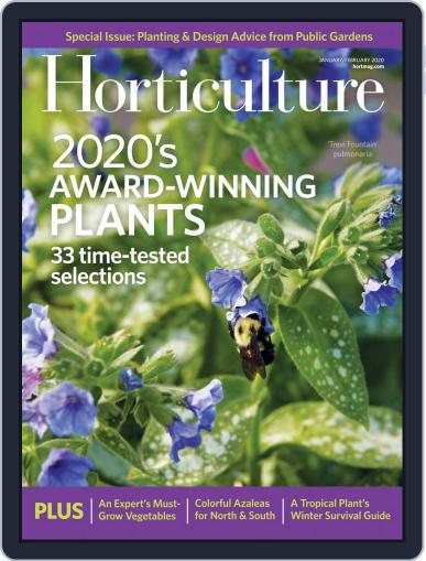 Horticulture January 1st, 2020 Digital Back Issue Cover