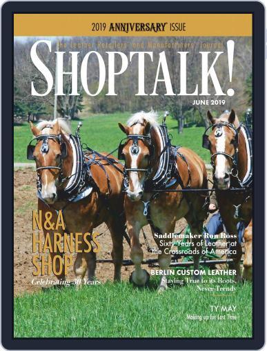 Shop Talk! June 1st, 2019 Digital Back Issue Cover
