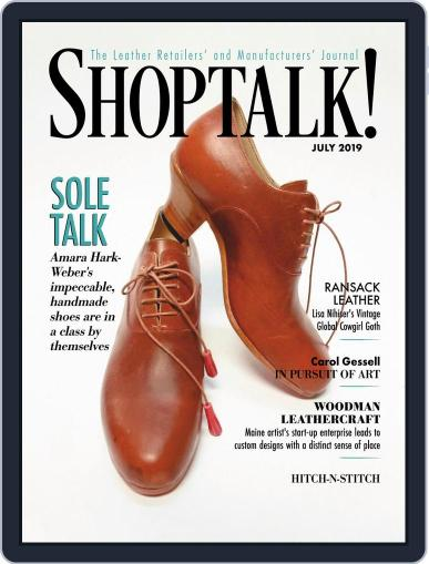Shop Talk! July 1st, 2019 Digital Back Issue Cover