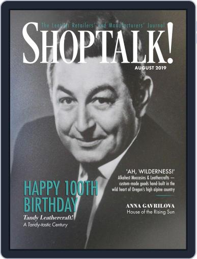 Shop Talk! August 1st, 2019 Digital Back Issue Cover