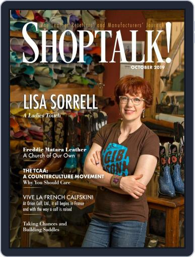 Shop Talk! October 1st, 2019 Digital Back Issue Cover