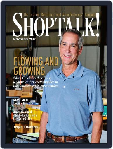 Shop Talk! November 1st, 2019 Digital Back Issue Cover