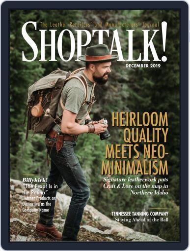 Shop Talk! December 1st, 2019 Digital Back Issue Cover