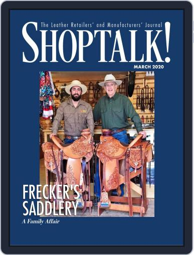 Shop Talk! March 1st, 2020 Digital Back Issue Cover