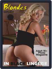 Blondes in Black Lingerie (Digital) Subscription October 18th, 2019 Issue