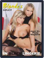 Blondes in Black Lingerie (Digital) Subscription December 18th, 2019 Issue