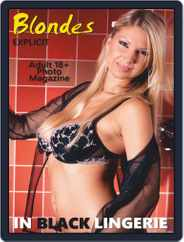 Blondes in Black Lingerie (Digital) Subscription January 11th, 2020 Issue
