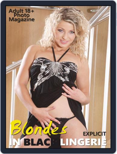 Blondes in Black Lingerie February 11th, 2020 Digital Back Issue Cover