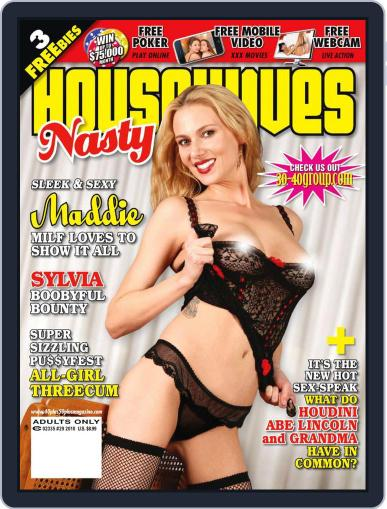 Nasty Housewives Presents with videos October 19th, 2010 Digital Back Issue Cover