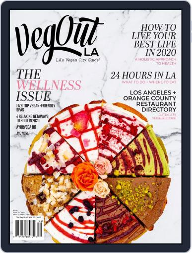 VegOut LA January 13th, 2020 Digital Back Issue Cover