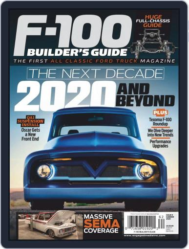 F100 Builders Guide March 1st, 2020 Digital Back Issue Cover