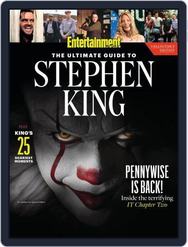 Entertainment Weekly The Ultimate Guide to Stephen King August 27th, 2019 Digital Back Issue Cover