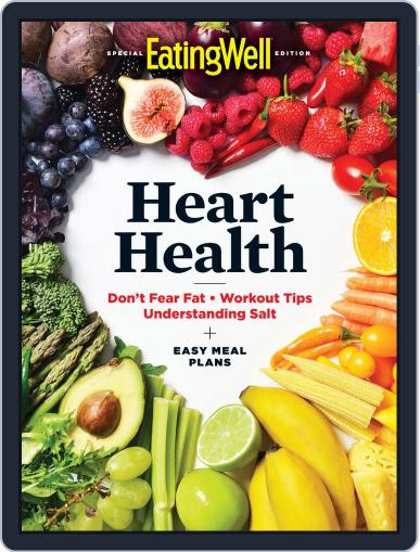 EatingWell Heart Health January 16th, 2020 Digital Back Issue Cover