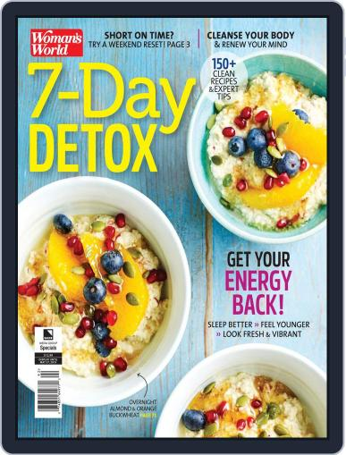 7-Day Detox January 15th, 2020 Digital Back Issue Cover