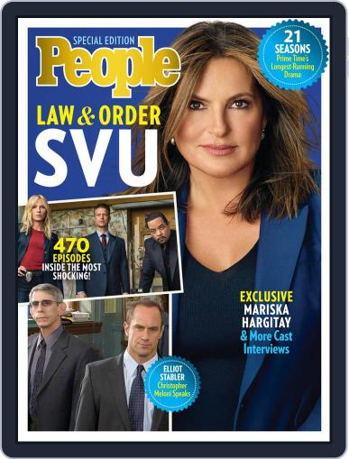 PEOPLE Law & Order SVU January 9th, 2020 Digital Back Issue Cover