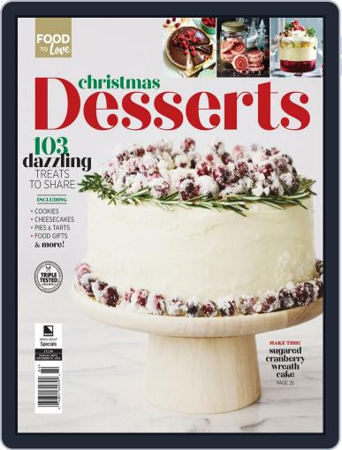Christmas Desserts January 15th, 2020 Digital Back Issue Cover