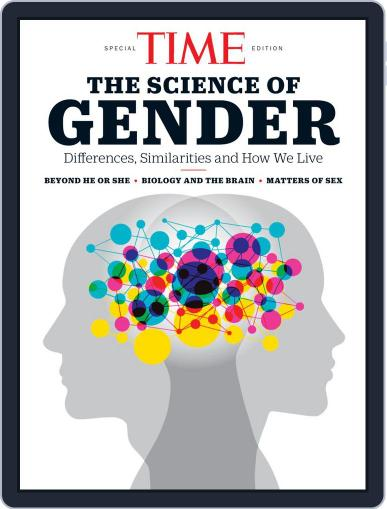 TIME The Science of Gender January 16th, 2020 Digital Back Issue Cover