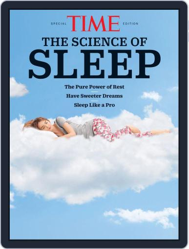 TIME The Science of Sleep February 6th, 2020 Digital Back Issue Cover