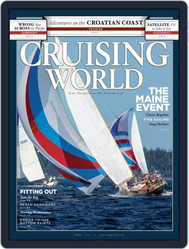 Cruising World April 1st, 2020 Digital Back Issue Cover