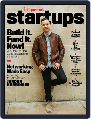 Entrepreneur's Startups March 10th, 2020 Digital Back Issue Cover