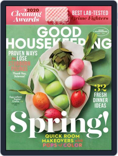 Good Housekeeping April 1st, 2020 Digital Back Issue Cover