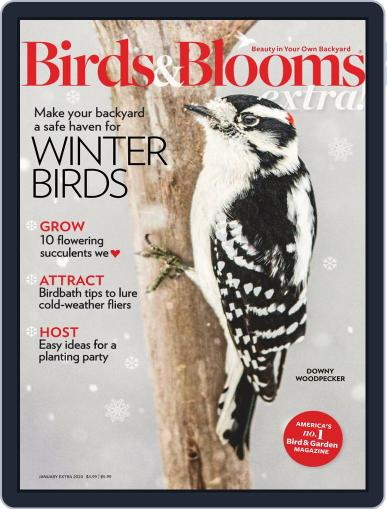 Birds and Blooms Extra January 1st, 2020 Digital Back Issue Cover