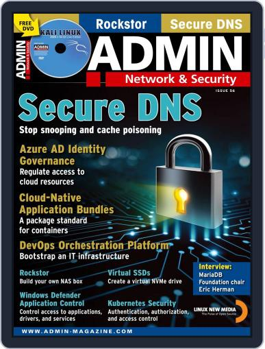 ADMIN Network & Security March 1st, 2020 Digital Back Issue Cover
