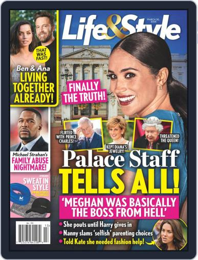 Life & Style Weekly March 30th, 2020 Digital Back Issue Cover