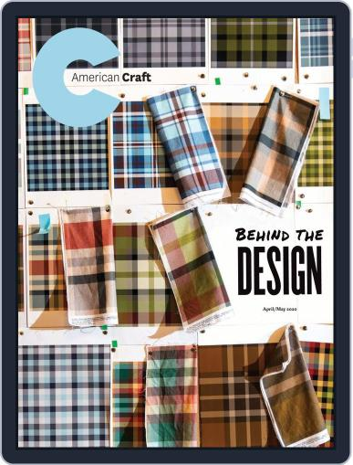 American Craft April 1st, 2020 Digital Back Issue Cover