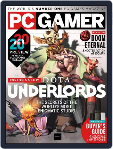 PC Gamer (US Edition) May 1st, 2020 Digital Back Issue Cover