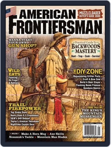 American Frontiersman March 1st, 2020 Digital Back Issue Cover