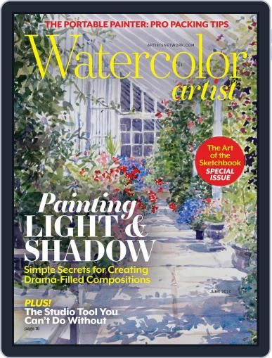 Watercolor Artist June 1st, 2020 Digital Back Issue Cover