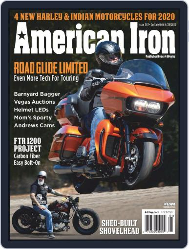 American Iron February 27th, 2020 Digital Back Issue Cover