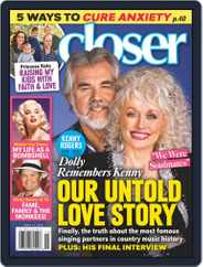 Closer Weekly (Digital) Subscription April 13th, 2020 Issue