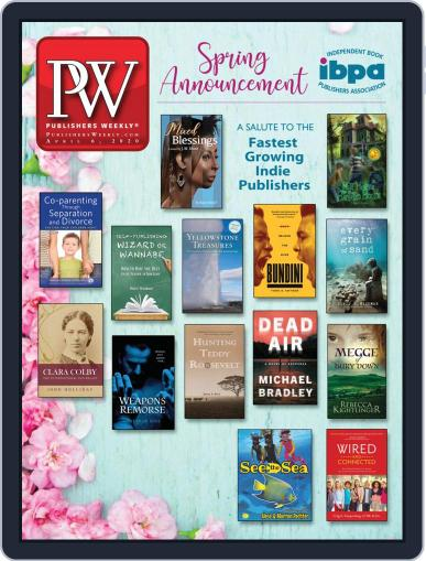 Publishers Weekly April 6th, 2020 Digital Back Issue Cover