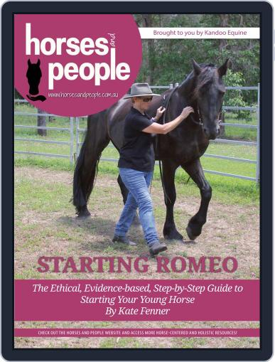 Horses and People Magazine Special Issue: Starting Romeo March 31st, 2020 Digital Back Issue Cover
