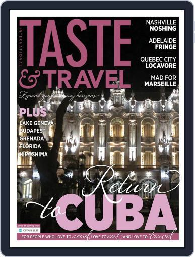 Taste and Travel International April 1st, 2020 Digital Back Issue Cover