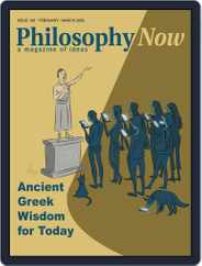 Philosophy Now (Digital) Subscription February 1st, 2020 Issue