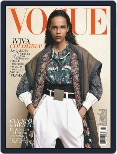 Vogue Latin America July 1st, 2019 Digital Back Issue Cover