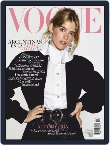 Vogue Latin America November 1st, 2019 Digital Back Issue Cover